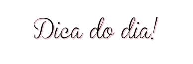 dica_do_dia